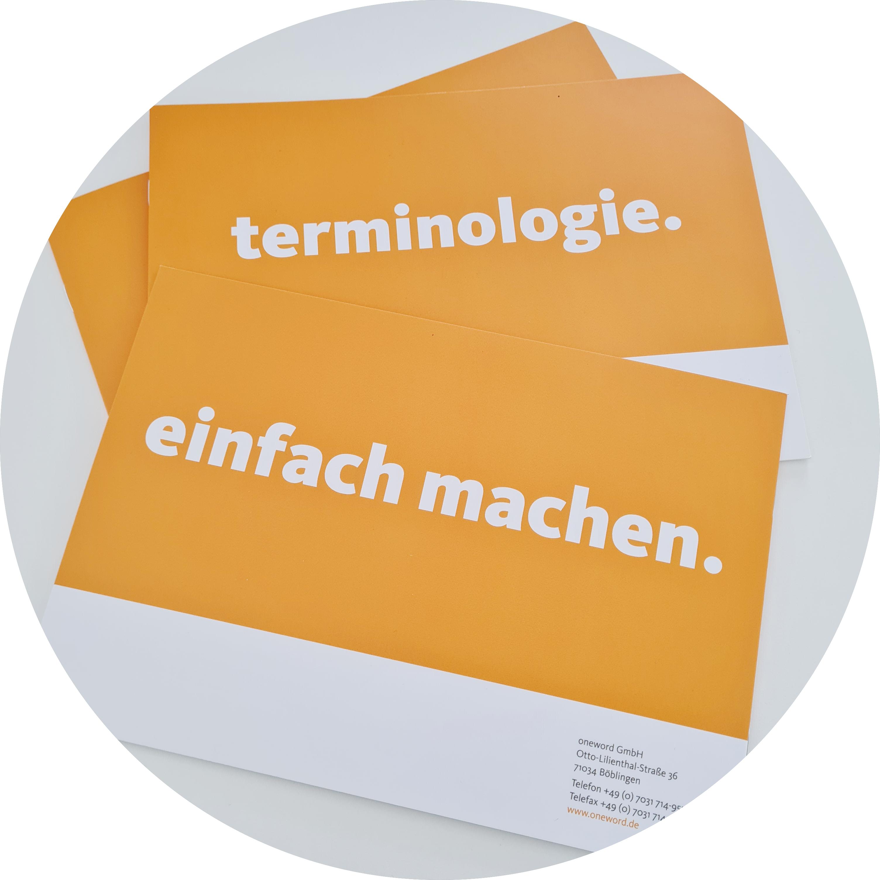 Terminologiearbeit - Booklet